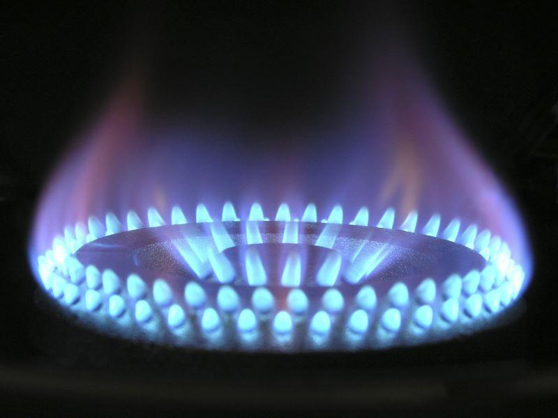 Flamme Gaskochfeld