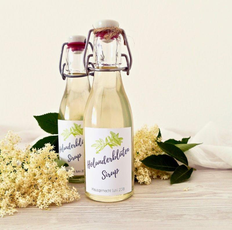 Um den Saft aus dem Dampfentsafter haltbar zu lagern sind Bügelflaschen eine gute Möglichkeit.
