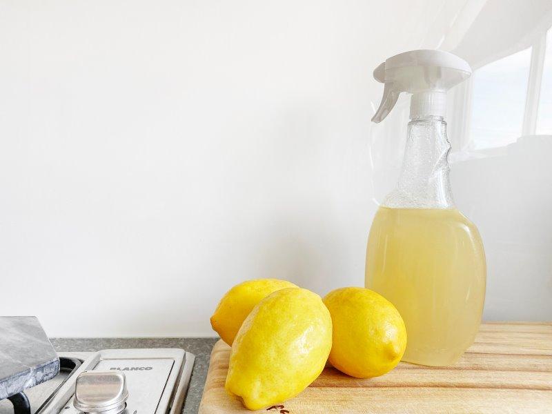 Reinigungsmittel aus Zitronen