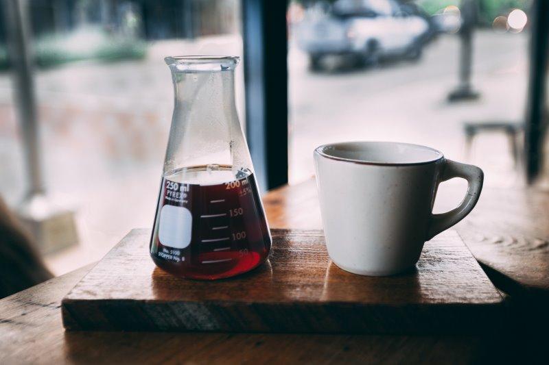 Karaffe mit Borosilikaglas
