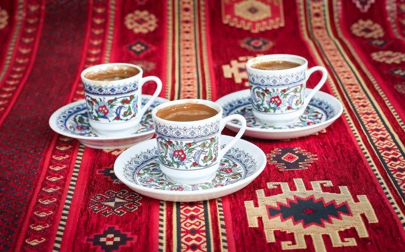 3 Türkische Kaffeetassen